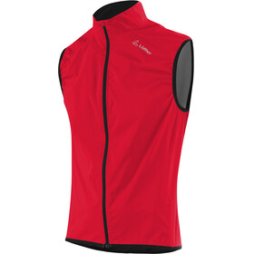 Löffler Windstopper Active Fietsvest Heren rood